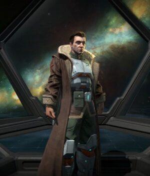 Age of Wonders Planetfall Ajiona Alexus Trench Coat