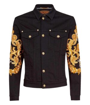 Will Smith Black and Golden Jacket