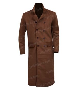 Doctor Who David Tennant The Tenth Doctor Trench Coat Front