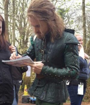 Tom Riley Doctor Who Green Jacket