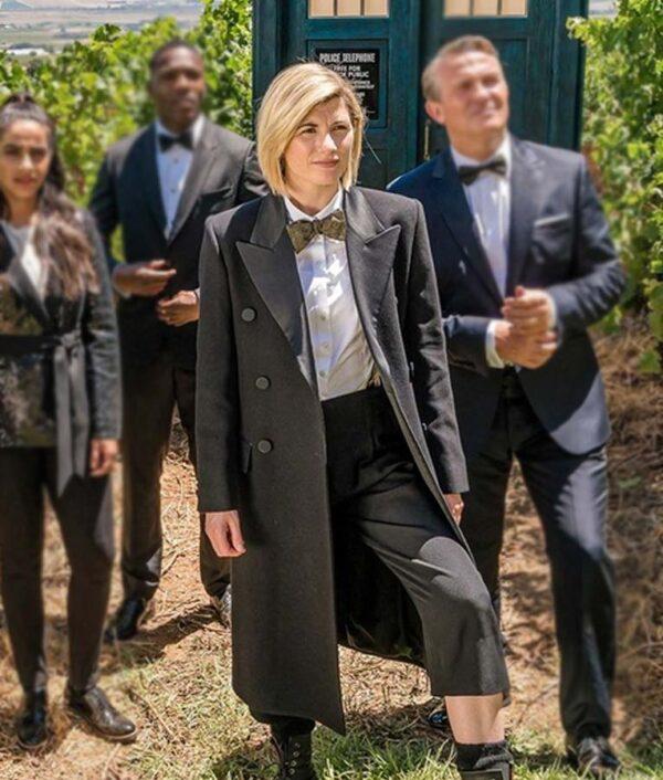 Doctor Who Season 12 The Doctor Black Coat