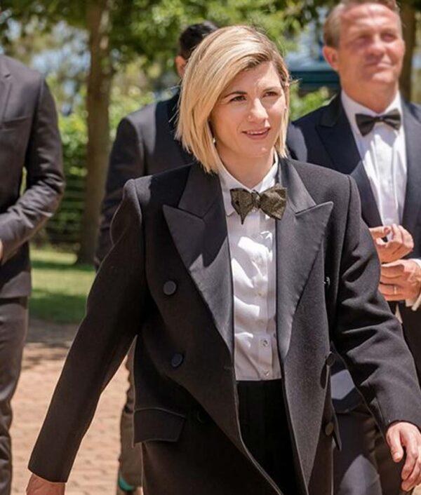 Jodie Whittaker Long Coat