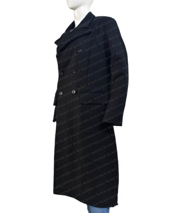 Doctor Who Season 12 The Doctor Long Coat Side