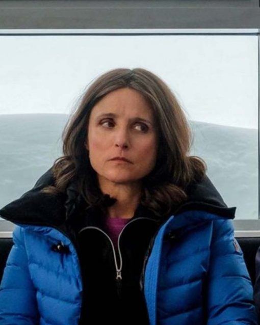 Julia Louis-Dreyfus Parachute Blue Jacket