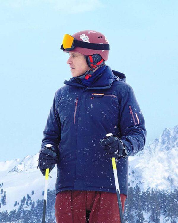 Downhill Will Ferrell Blue Jacket