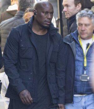 Tyrese Gibson Black Cotton Jacket