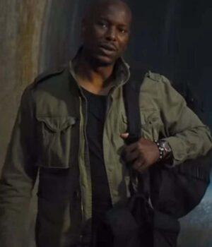 Tyrese Gibson Green Jacket