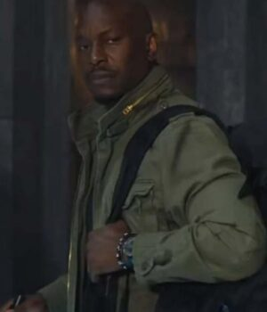 Tyrese Gibson Green Military Jacket
