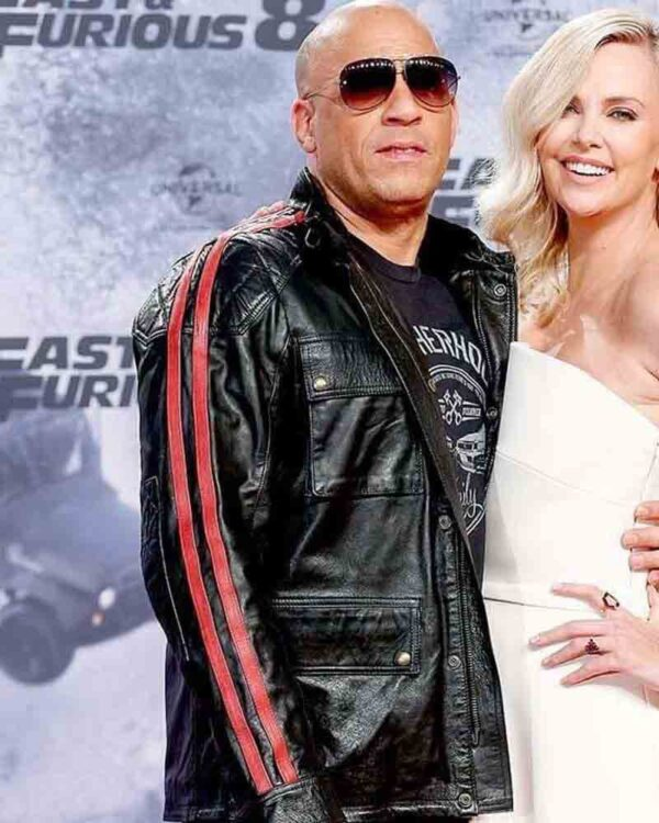 Fast and Furious Premiere Vin Diesel Leather Jacket