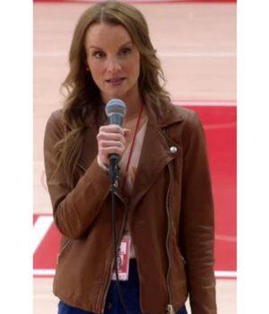 Kate Reinders Brown Leather Jacket