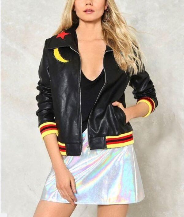 High School Musical Olivia Rodrigo Bomber Black Jacket