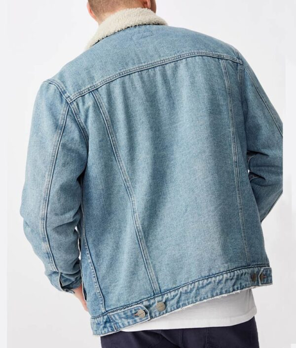 Joshua Bassett Denim Cotton Jacket