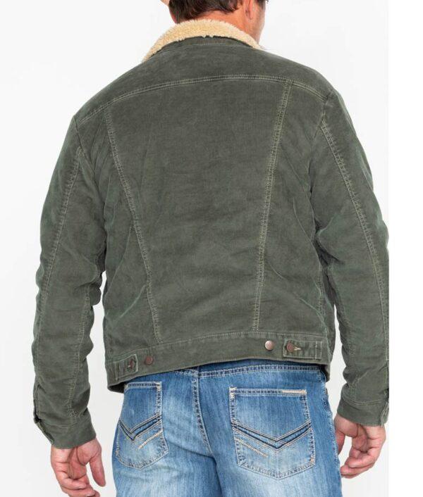 Joshua Bassett High School Musical Green Cotton Sherpa Jacket