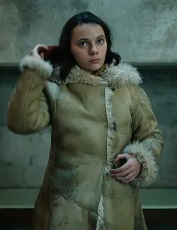 His Dark Materials Mrs Coulter Fur Beige Coat