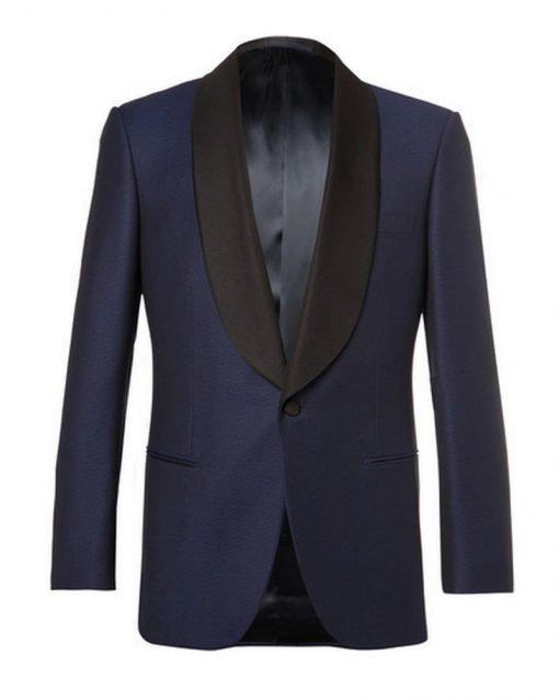 Daniel Craig Skyfall Blue Dinner Tuxedo