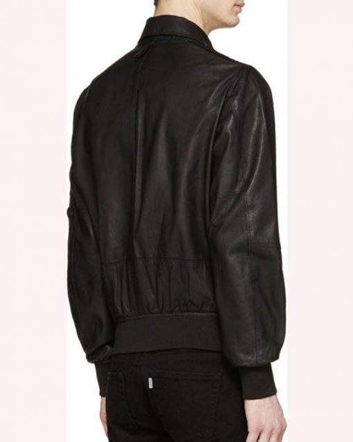 Evan Roderick Black Bomber Jacket