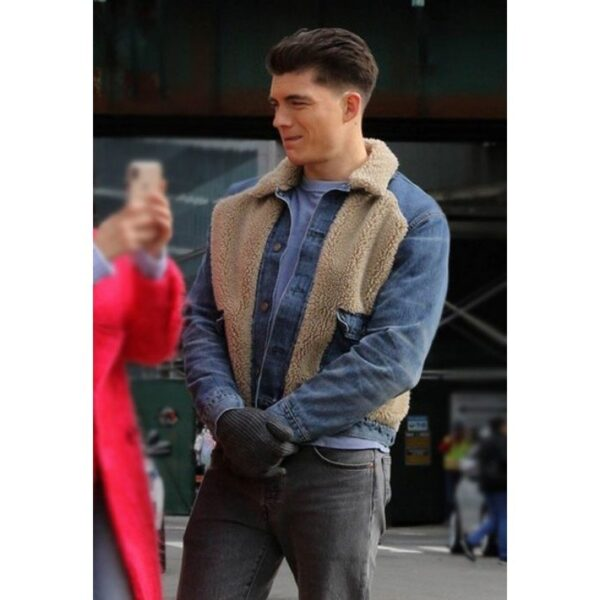 Zane Holtz Shearling Jacket