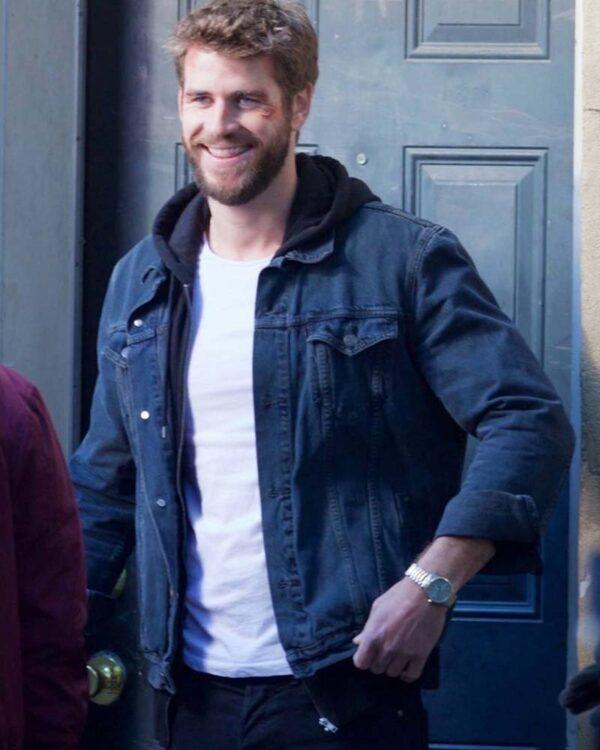 Killerman Liam Hemsworth Denim Blue Denim Jacket