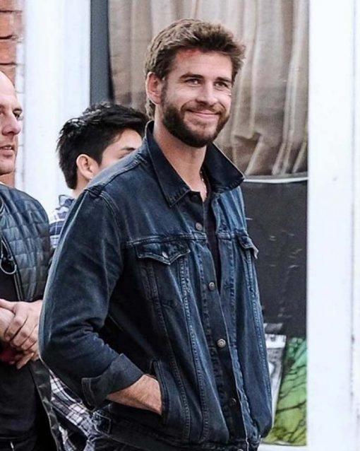 Liam Hemsworth Killerman Denim Blue Denim Jacket