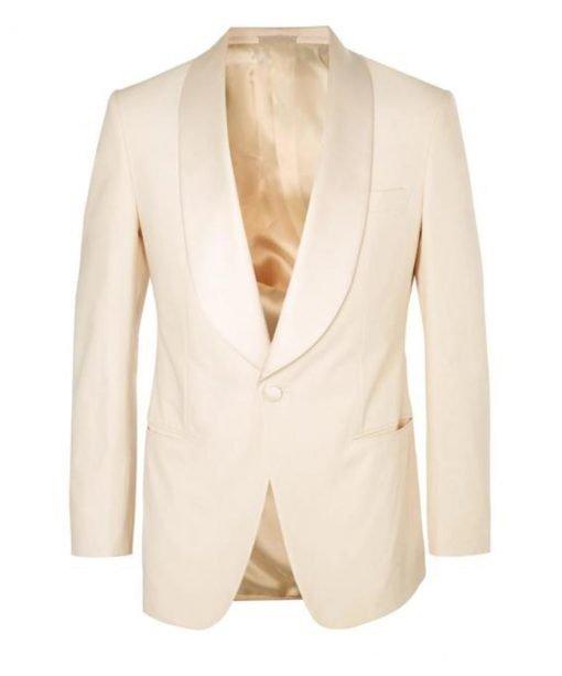 Eggsy Ivory Kingsman Tuxedo Blazer
