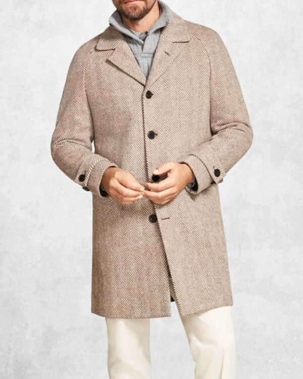 Knives Out Daniel Craig Wool Grey Coat