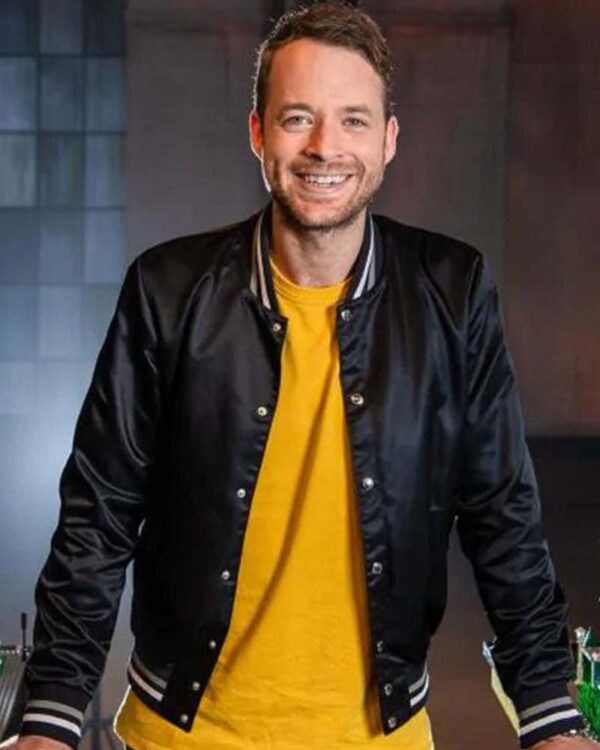 Hamish Blake Black Jacket