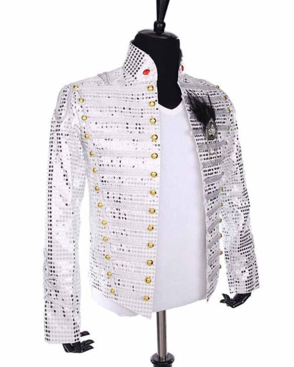 Michael Jackson History Tour White Jacket