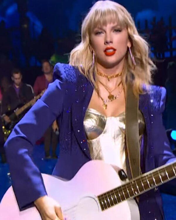 Miss Americana Taylor Swift Purple Blazer