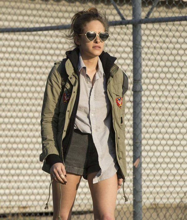 Carly Chaikin Military Green Cotton Jacket