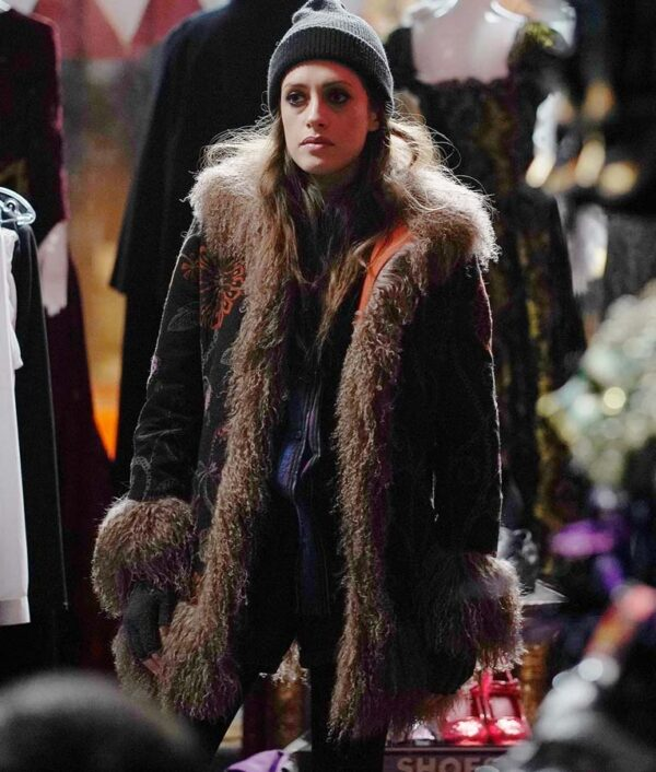 Mr. Robot Carly Chaikin Fur Coat