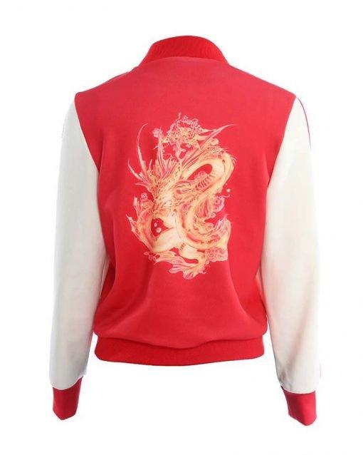 Ming-Na Wen Red jacket