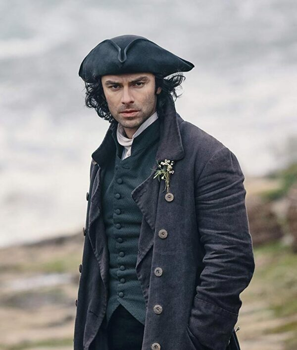 Poldark Aidan Turner Trench Coat