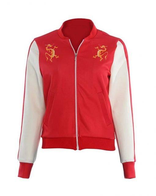 Mulan Ming-Na Wen Red Jacket