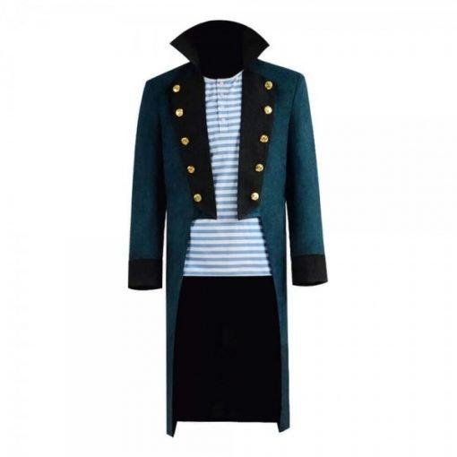 Robert Downey Jr. Trench Blue Coat