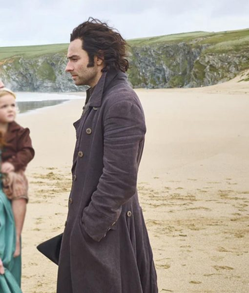 Ross Poldark Aidan Turner Trench Coat