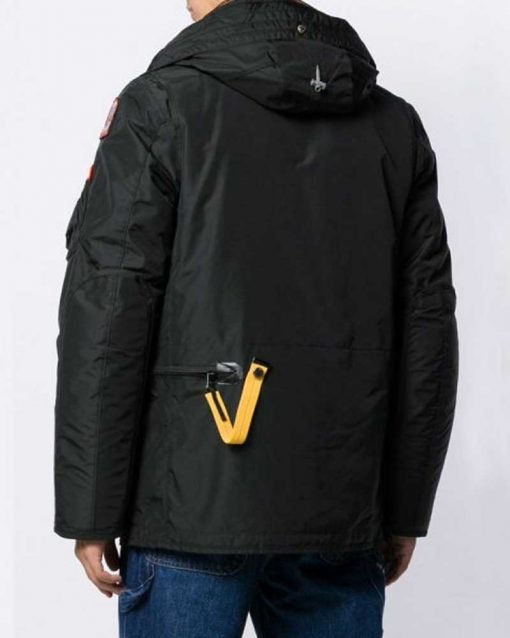 Evan Roderick Black Hooded Jacket