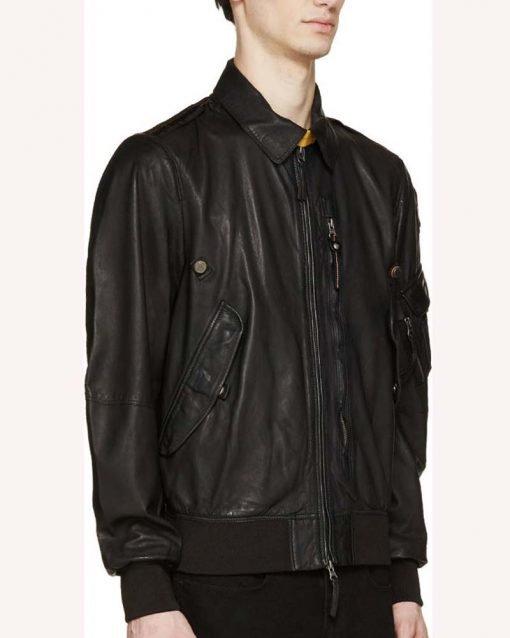Evan Roderick Black Leather Jacket