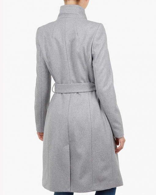 Sarah Wright Grey Coat