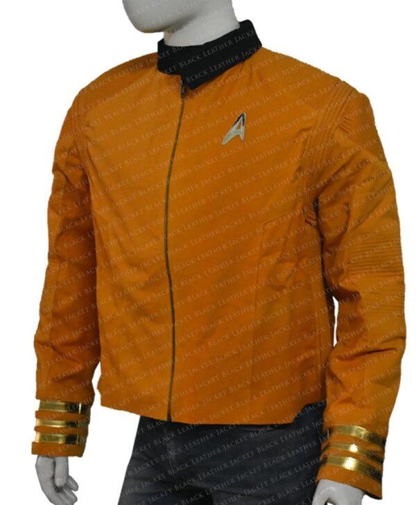 Star Trek Captain Christopher Pike Yellow Jacket left