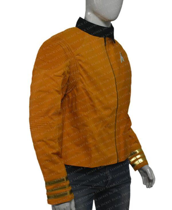 Star Trek Captain Christopher Pike Yellow Jacket right