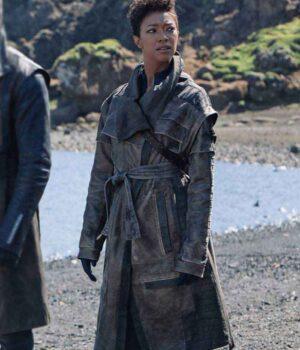 Sonequa Martin-Green Trench Coat