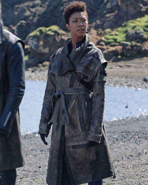 Sonequa Martin-Green Trench Coat
