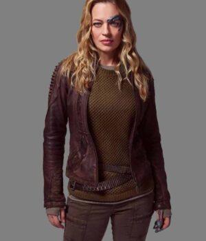 Jeri Ryan Seven Leather Jacket
