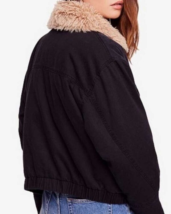 Taylor Swift Black Denim Jacket
