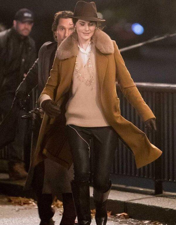 Michelle Dockery The Gentlemen Trench Coat