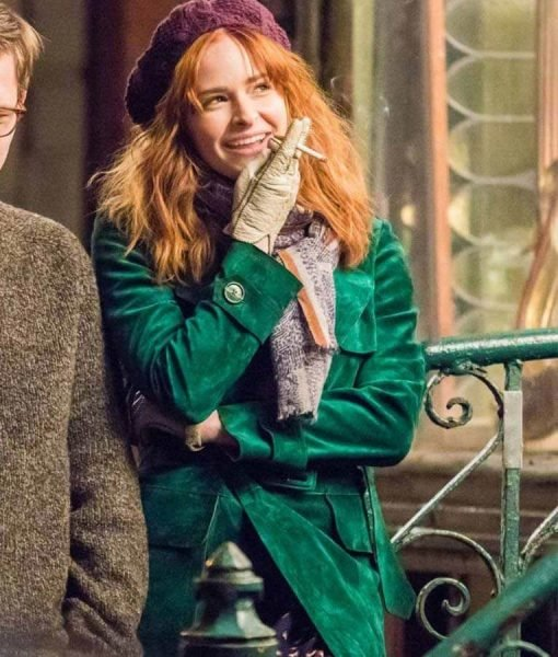 The Goldfinch Ashleigh Cummings Green Coat