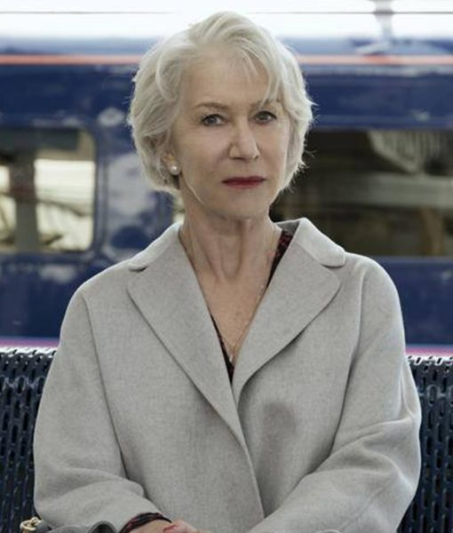 The Good Liar Helen Mirren Grey Long Coat