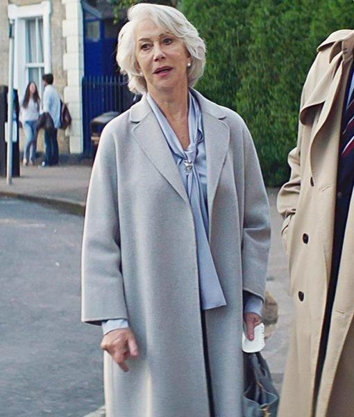 The Good LiarHelen Mirren Long Coat