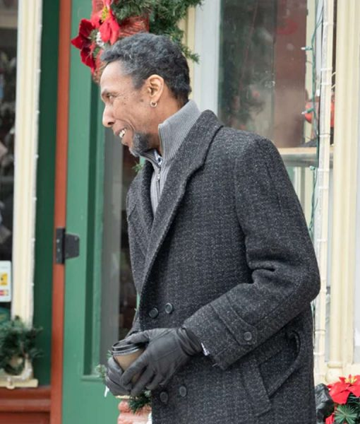 The Holiday Calendar Ron Cephas Jones Grey Coat