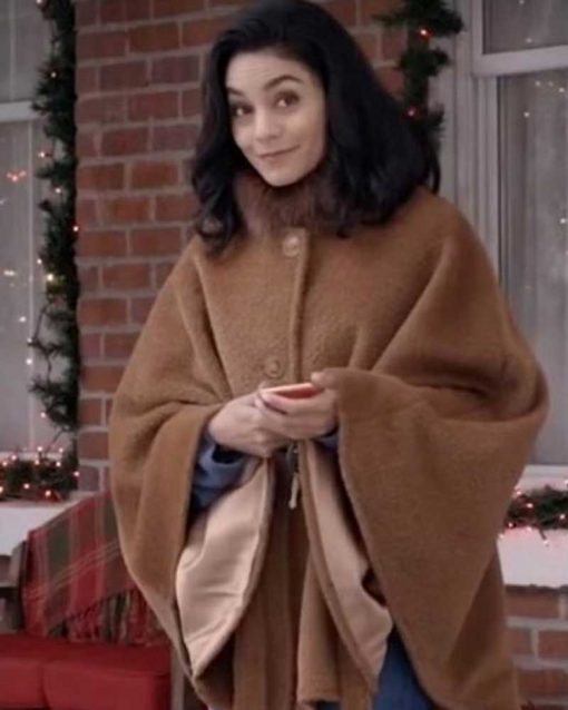 Vanessa Hudgens Brown Coat